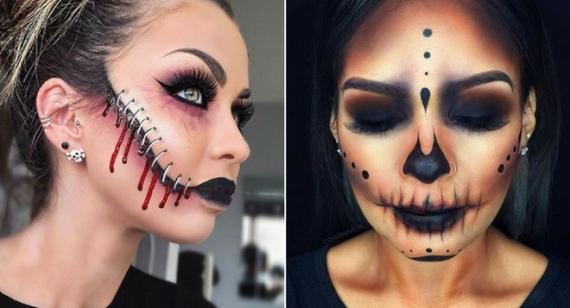 FOTO: 16 tipov na dokonalý halloweensky make-up, s ktorým určite vynikneš