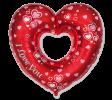 Valentínske balóny