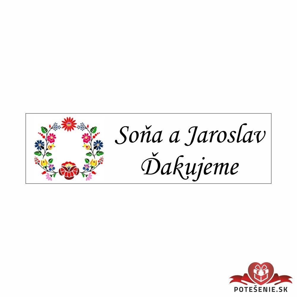Handmade veciky Svadba /