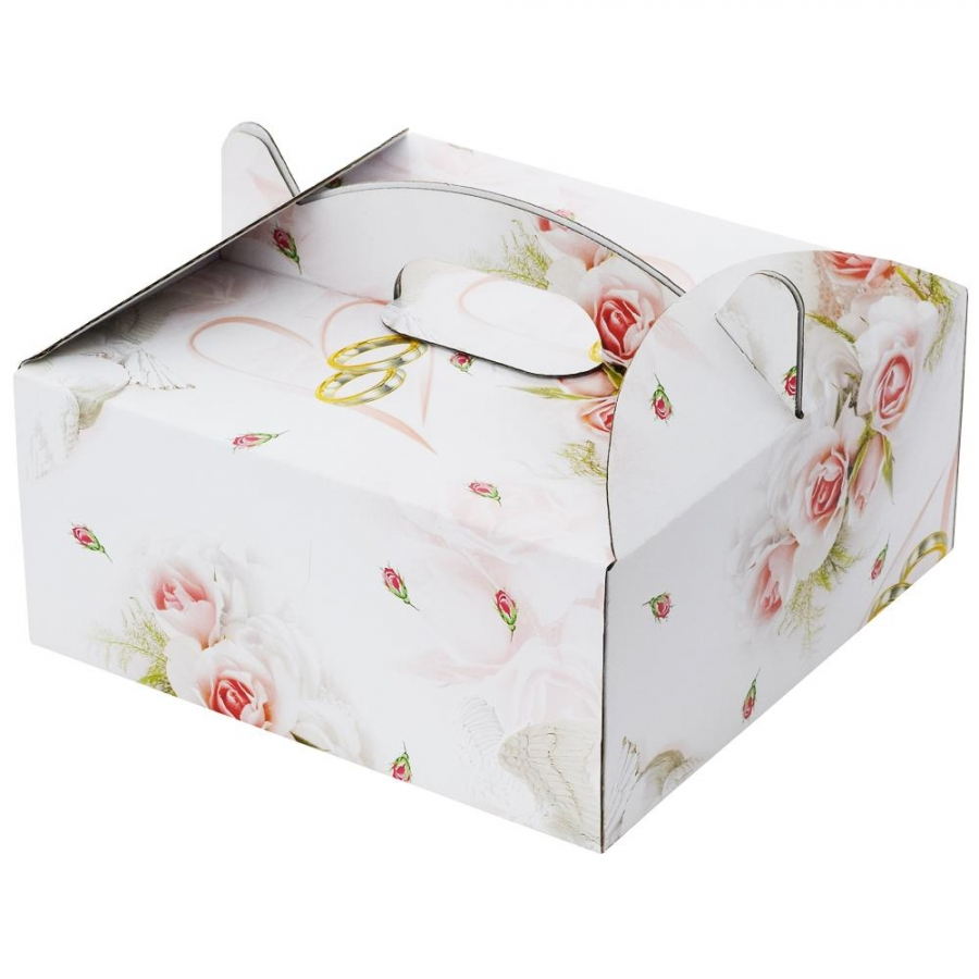 20 krabica výslužková so vzorom 20x20x9cm  3563b6e5533