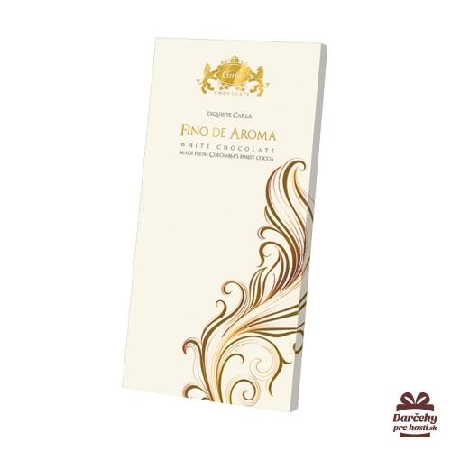 FINO DE AROMA tabuľková biela čokoláda - Svadobné čokoládky