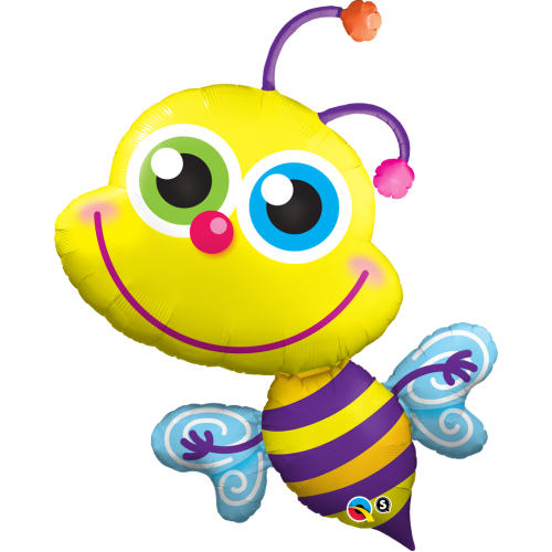 Balóny Veľké - héliové   Veľkosť 71-91cm  - Q Beaming Bee