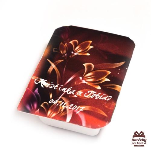 Svadobný džem pre hostí, motív S009