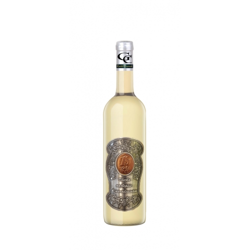 18 Rokov Darčekové víno Biele Kovová etiketa