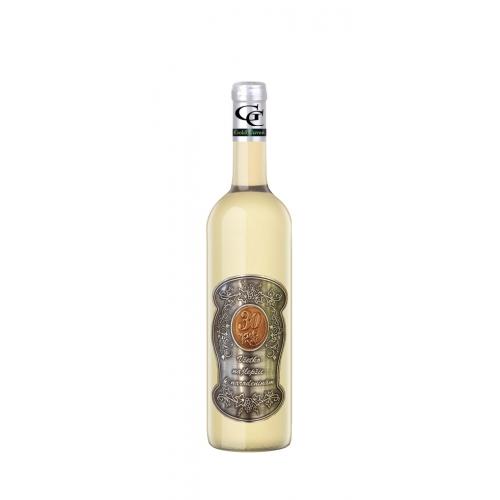 30 Rokov Darčekové víno Biele Kovová etiketa