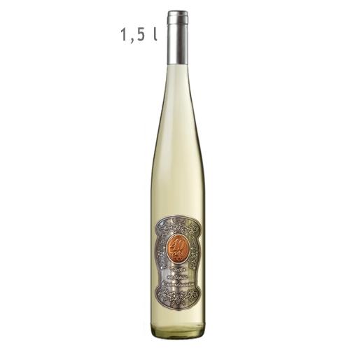 1,5  L Darčekové víno biele 40 rokov