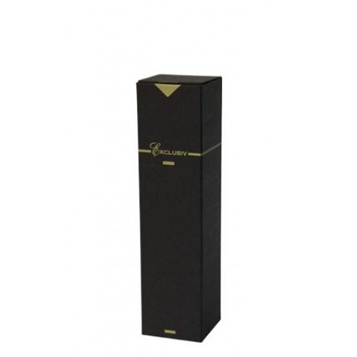 Box na víno exlusive čierna 1 fl.