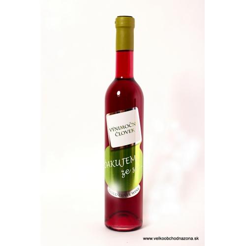 Darčekové víno - Výnimočný človek