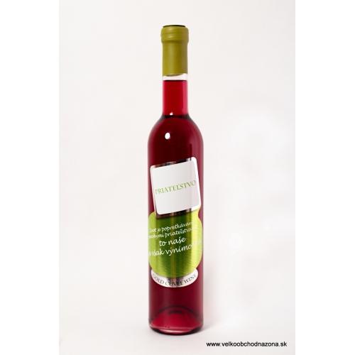 Darčekové víno - Priateľstvo