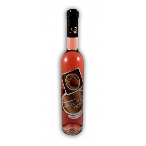 0,5 l Darčekové víno Jahodové