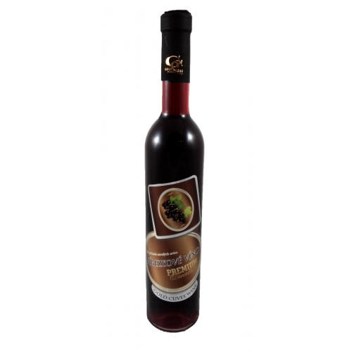 0,5 l Darčekové víno Ríbezľové