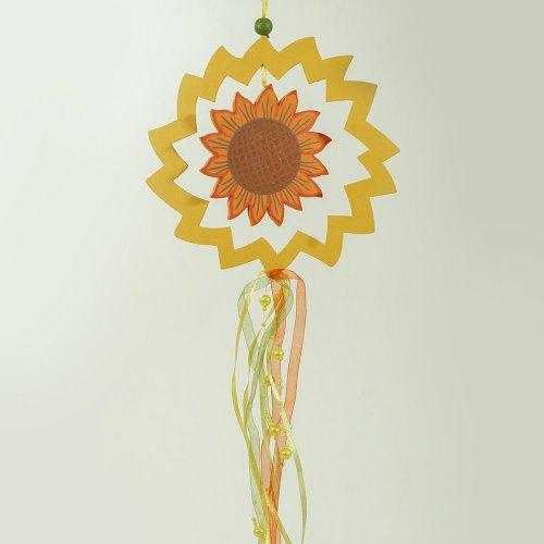 Záves slnečnica jeseň. vzor 2 - 47x17x1 cm