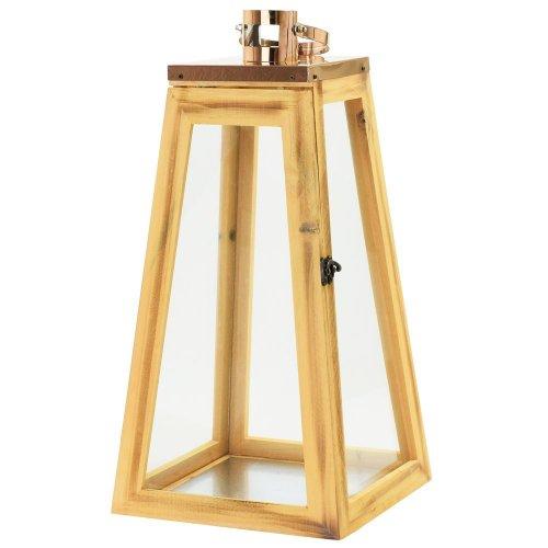 Lampáš drev/kov-lesk