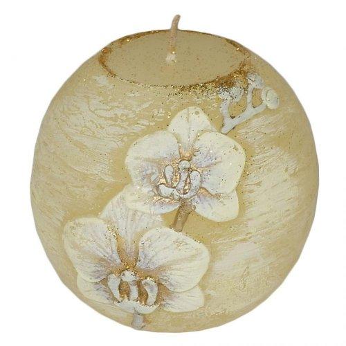 Orchid . vian . dioda guľa 80 ecru