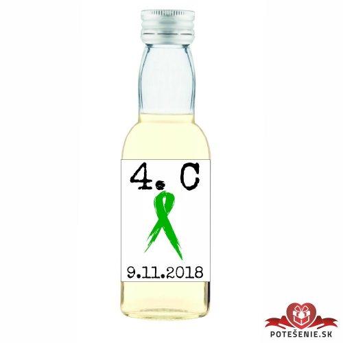 Maturitná fľaštička s alkoholom, motív M016