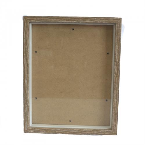 Hlboký Rám - Hnedá Patina - 15x20cm