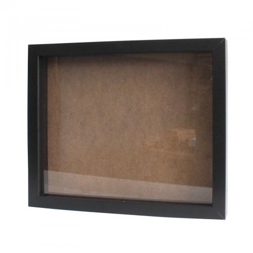 Hlboký Rám - Portrét 25 x 30cm Čierny