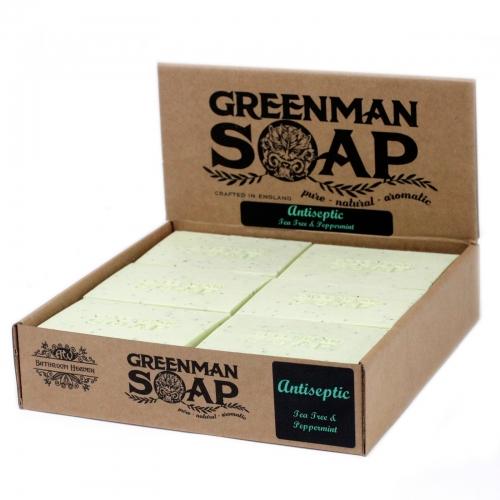 Greenman Mydlo 100g - Antiseptický bojovník