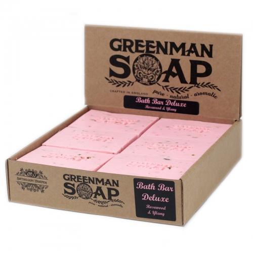 Greenman Mydlo 100g- Kúpeľný Bar Deluxe