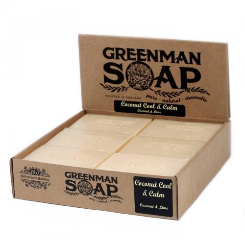 Greenman Mydlo 100g- Svieži a ukľudňujúci Kokos