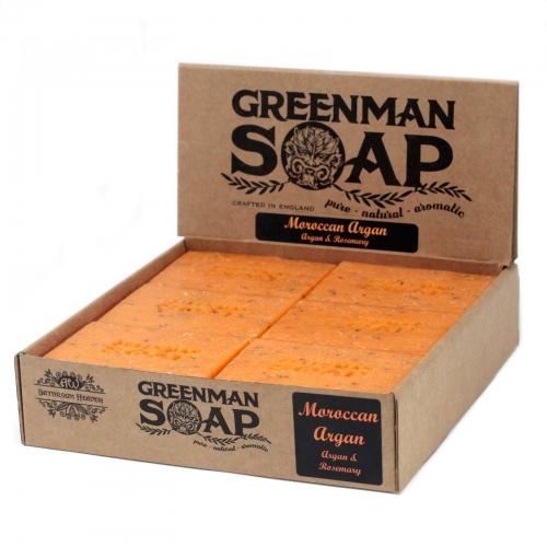 Greenman Mydlo 100g- Zlatý Argan