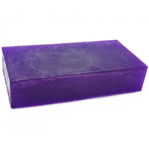 Aromaterapeutické mydlo - Pelargónia - Fialové