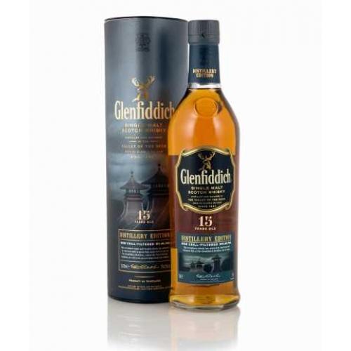 Glenfiddich 15 Year Distillery Edition + GB 0,7l (51%) - Whisky
