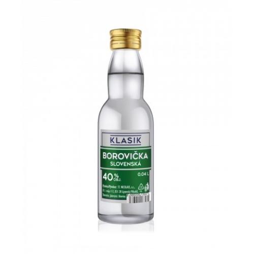 Klasik Slovenská Borovička 0,04l (40%) - Borovička