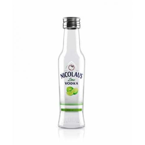 Nicolaus Lime Vodka 0,04l v skle (38%) - Vodka