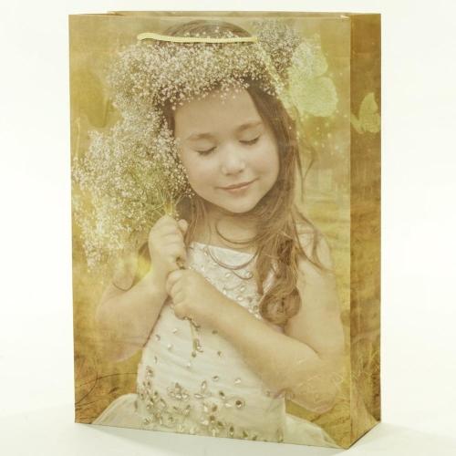 Darčeková taška dievčatko 25x8,5x34,5cm