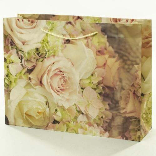 Darčeková taška ruža 37,5x10,6x28,5cm