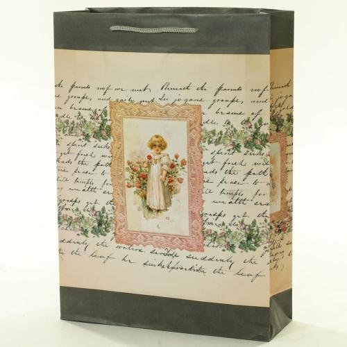 Darčeková taška vintage detičky 25x8,5x34,5cm