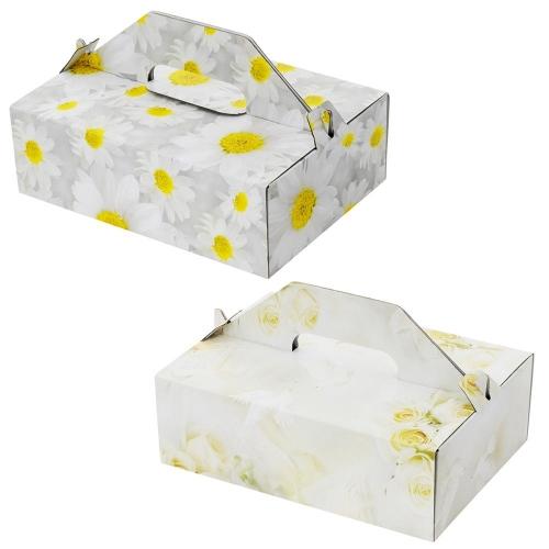 23 krabica výslužková so vzorom 23x16,5x7,5cm