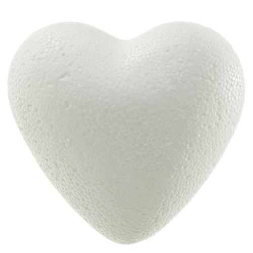 Polystyrén srdce plné 8 cm