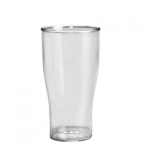 Plastový pohár na pivo 250ml, nerozbitný, GoldPlast