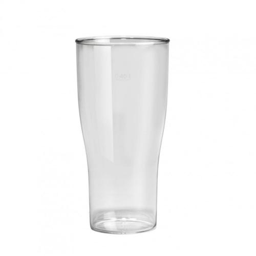 Plastový pohár na pivo 400ml, nerozbitný, GoldPlast