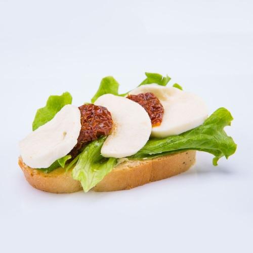 Obložený chlebík zeleninový - Obložené chlebíky