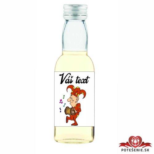 Plesová mini fľaštička alkoholu PF016