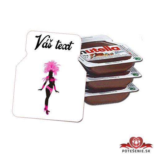 Plesová mini Nutella PMN008