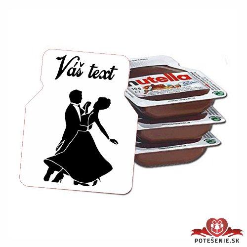 Plesová mini Nutella PMN0010