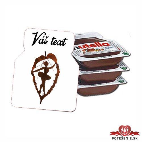 Plesová mini Nutella PMN0012