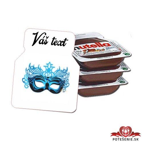 Plesová mini Nutella PMN0026