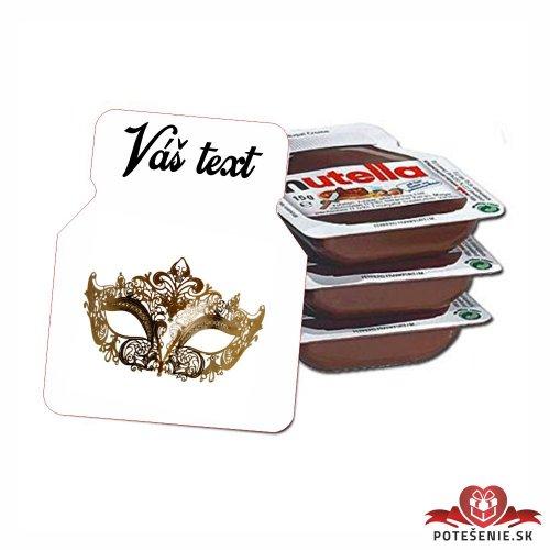 Plesová mini Nutella PMN0035
