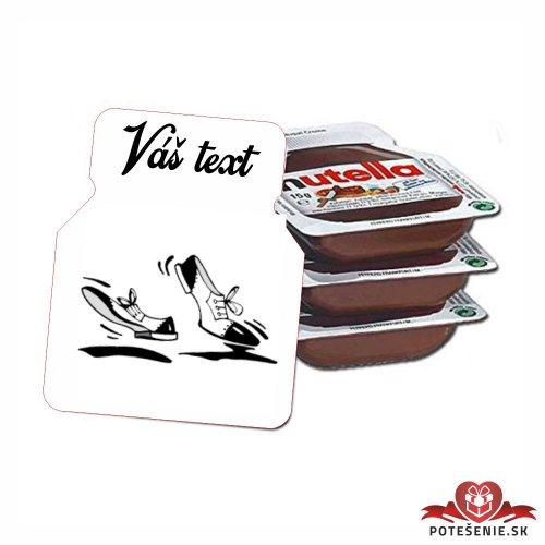 Plesová mini Nutella PMN0043