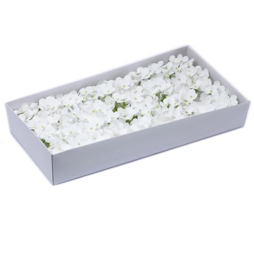 Mydlové kvety, kvet Hyacint - biela - Hyacint