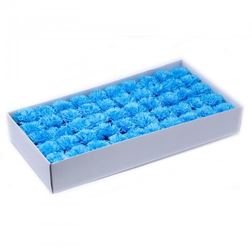 Mydlové kvety - karafiát - modrá - Karafiát