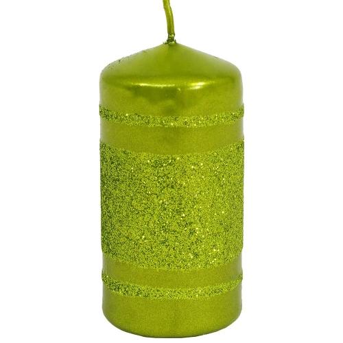 Briliant Met sviečka valec 4/8cm oliva