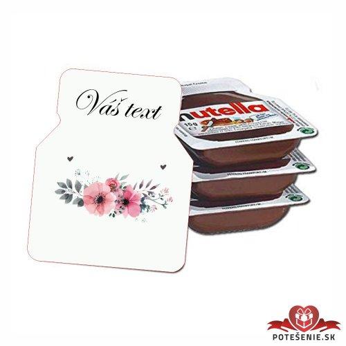 Svadobná mini Nutella, motív S103 - Svadobná Nutella