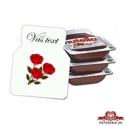 Svadobná mini Nutella, motív S119 - Svadobná Nutella