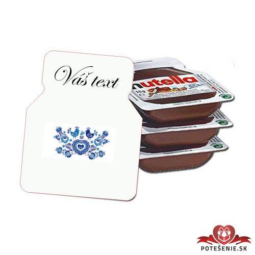 Svadobná mini Nutella, motív S155 - Svadobná Nutella